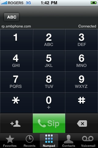 Jailbroken iPhone running VoIP over 3G on Rogers