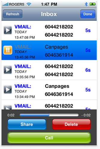 gabpark - voicemail