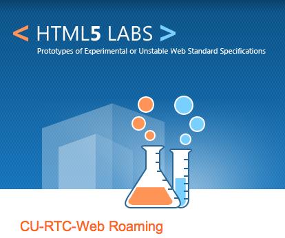 CU-RTC-Web - Roaming