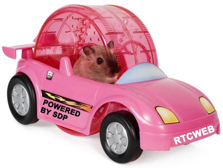 WebRTC Hamster Car