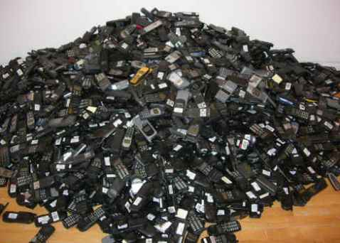 Too many phones!